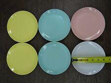 Vintage Sun Valley Melmac Plates 6 inch