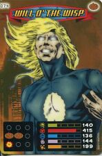 Spiderman Heroes And Villains Card #074 Will O The Wisp