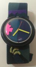 Swatch Pop Tropical Night Watch Quartz ETA Wristwatch Swiss Made PWBS104 1990