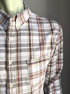 CRATE of LA Shirt, Brentwood Plaid, Large (4), Exc Cond