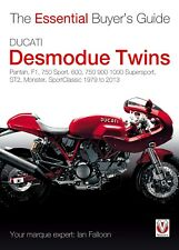 Ducati Desmodue Twins Ian Falloon Pantah,F1,750,600,900 Supersport Author signed