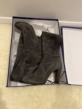 Stuart Weitzman Highland Boots Used UK6 Stretch-Suede Over-The-Knee Boots