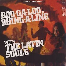 THE LATIN SOULS Boo-Ga-Loo & Shing-A-Ling Pancho Cristal KAPP Sealed Vinyl LP