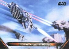 Star Wars Galactic Files Reborn Vehicles Chase Card V-8 Snowspeeder