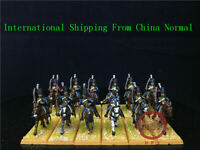 1/56 28mm Napoleonic Wars DPS painted French Hussars GH1550