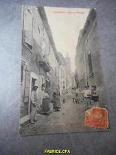 CPA LEDENON RUE DE L' HORLOGE 30 GARD  N703