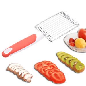 Tomato Slicer Stainless Steel Fruit Vegetable Slicer Cutter Banana Strawb.hu