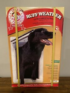 New Ideal Pet Products Extra Large Ruff Weather Dual Flap Pet Door
