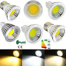 6W 9W12W E12 E27 GU10 MR16 LED Spot Ampoule ou lumière du jour lampe blanc chaud