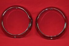 1955 Buick Special Headlight Bezels.