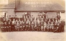 More details for bell hotel abbey & sons kemp town brewery brighton unused rp old pc stanley mann