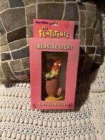 Vintage 1990 Flintstones Bedside Soft  Glow Light by Hanna Barbera Pebbles Dino