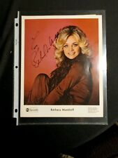 Rare Barbara Mandrell Press Photo, Hand autographed ABC Records
