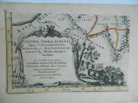 Incisione Xvii Secolo Guillaume Sanson Cartuccia Illustrato 1667