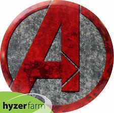 Dynamic Discs Cracked Avengers A Fuzion Truth *pick weight* disc golf Hyzer Farm
