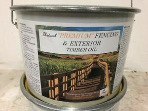 Fence Finish 10lt Natural Oil for timber fences, Post & Rail, rafters Tung Oil
