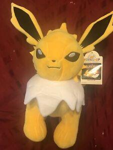 Build A Bear Pokémon Jolteon Plush Stuffed Animal