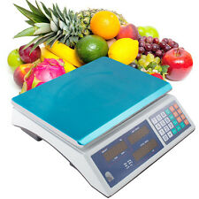 Usa 30Kg Digital Weight Scale Price Computing Food Meat Scale Produce Deli