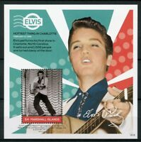 Marshall Isl 2018 MNH Elvis Presley Life in Stamps 1v S/S II Music Celebrities