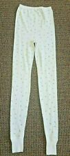 Vintage 1960s Ladies Hanes Cotton Polyester Thermals Long Johns Sz. Small