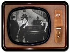 Vintage Television Mouse Mat. Laurel And Hardy The Piano Mouse Pad. TV