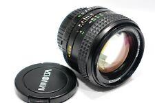 Minolta MD Rokkor 50mm 1:1.2 lens f/1.2 fits X700 X500 XD5 XD7 X-1 XK X-M camera