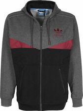 LARGE adidas Originals Men's COLORADO Full Zip Hoodie Jacket S21891 Heather Gray