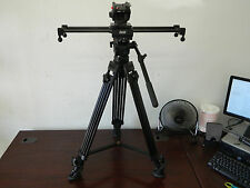 "Cinevate 24"" V2 Duzi Slider // E-Image AT-7402A Tripod w/ EH60 Fluid Head"