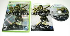 Darksiders (Microsoft Xbox 360, 2010) Complete No Scratch on the CD