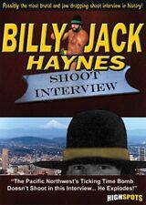Billy Jack Haynes Shoot Interview DVD Wrestling WWF WCW Portland WWE