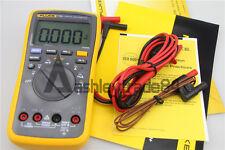1PCS NEW FLUKE 17B+ Digital multimeter Tester DMM with TL75 test leads F17B+