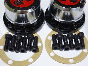 Manual Wheel Hubs for Nissan GQ GU Patrol Ford Maverick TD4.2 2.8 3.0 4.5 4.8