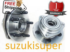 2 X Jeep Cherokee XJ Wrangler TJ Front Wheel Bearing Hub 2000 Onwards Pair