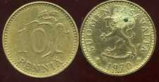 FINLANDE 10 pennia 1970  ( bis )