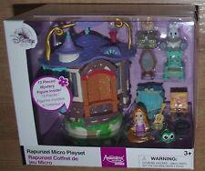 Disney Store Rapunzel Micro Playset Animators Collection Littles house Tangled
