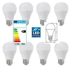 8x LED SMD Lampe E27 12W Watt (= 75W) Leuchtmittel Glühbirne 1055 Lumen Warmweiß