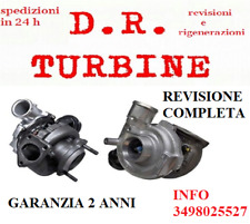 TURBINA TURBO 17201-33010 TOYOTA YARIS VERSO MINI ONE R50 1.3 1.4 REVISIONATO
