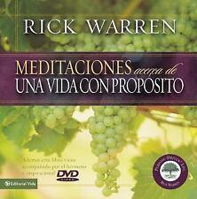 Meditaciones para una Vida con Proposito (Meditations On a Purpose Driven Life)