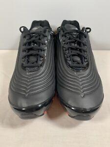 Nike Air Max Deluxe SE 97 Black Anthracite Crimson Mens AO8284 001 Size 11.5