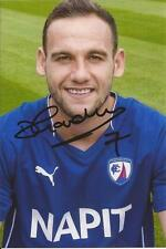 CHESTERFIELD * DAN GARDNER SIGNED 6x4 PORTRAIT PHOTO+COA