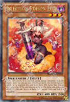 YuGiOh Orica: Injection Poison Lily Holo Foil Custom Anime Card Holographic