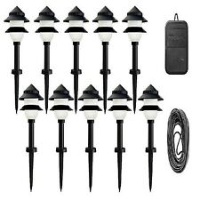 10 Outdoor Landscape Fixtures Path Lighting Spot Lights Garden Low Voltage Lamp