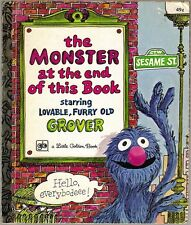 Vintage Little Golden Book THE MONSTER AT THE END OF THIS BOOK  #316