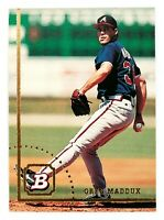Greg Maddux #245 (1994 Bowman) Baseball Card, Atlanta Braves, HOF