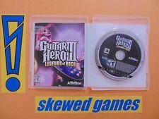 Guitar Hero III Legends of Rock - cib - PS3 PlayStation 3 Sony