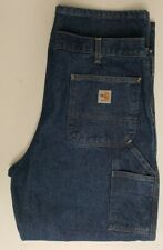 NWT Carhartt FR Dungaree Jeans Size 38X30  HRC 2 NFPA 2112 Fire Resistant