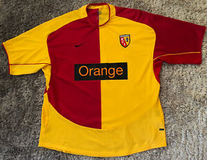 068 Authentic Lens RCL 2004 2005 Home Soccer Jersey France Nike Mens XXL VGC