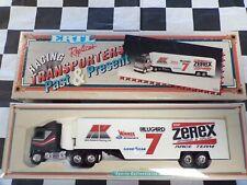 1994 Alan Kulwicki #7 Zerex 1:64 scale Racing Transporter ERTL White Rose Collec