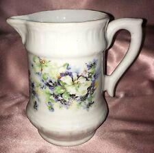 Vintage ~ Numbered Ceramic Floral Vase Jug ~ Estate Collectable