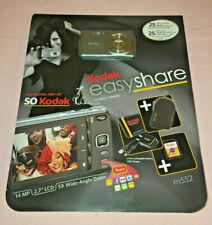Kodak Easyshare Digital Camera Bundle - m552 - 14 MP, 2.7 LCD, 5x {NEW/UNOPENED}